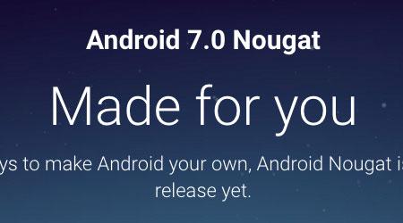 Photo of رسمياً – بدء إطلاق تحديث Android 7 Nougat للمستخدمين !