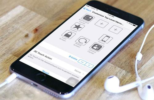 تخصيص ميزة AssistiveTouch للتعامل مع جهازك كمستخدم متقدم