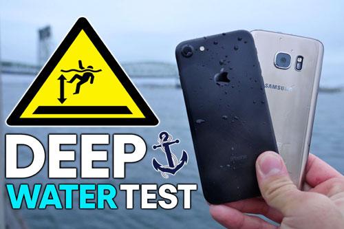 أيفون 7 ضد جالاكسي S7 في مقاومة الماء - أيهما أقوى ؟
