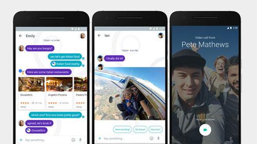 جوجل تكشف رسميا عن تطبيق الدردشة Google Allo - مزايا ذكية