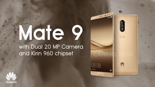 جهاز Mate 9 قادم قريبا مع كاميرا مزدوجة - صورة وتفاصيل مسربة