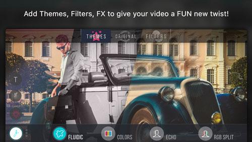 تطبيق Vizmato لتسجيل وتحرير الفيديو بمزايا كثيرة ومنوعة