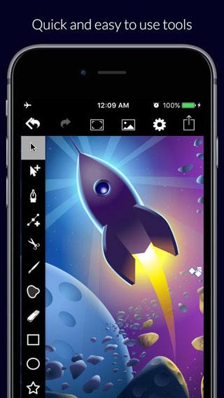 تطبيق VectorPaper+ للرسم وتحرير الصور