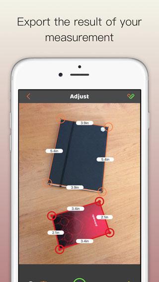 تطبيق Simpler Contacts Pro لمعرفة مقاسات الأشياء بالكاميرا
