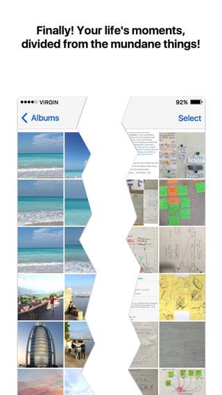تطبيق Utiful لتنظيم وترتيب صورك في مجلدات