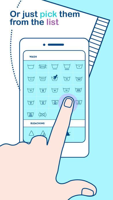 تطبيق Laundry Guide دليل معرفة رموز غسل الملابس للحفاظ عليها