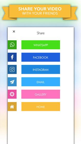 تطبيق Video Slideshow Editor لإنشاء فيديو من ألبوم صورك - مزايا كثيرة