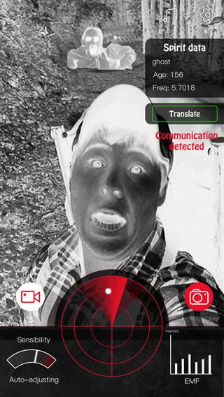 تطبيق Ghost Surveyor للبحث عن الأشباح والتواصل معهم