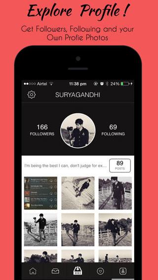 تطبيق IG Saver لتنزيل صور وفيديو انستغرام