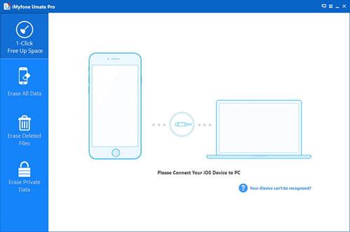 برنامج iMyfone Umate Pro لتنظيف الايفون