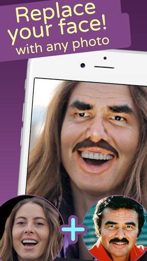 تطبيق Face Swap Live لتبديل الوجوه في الفيديو
