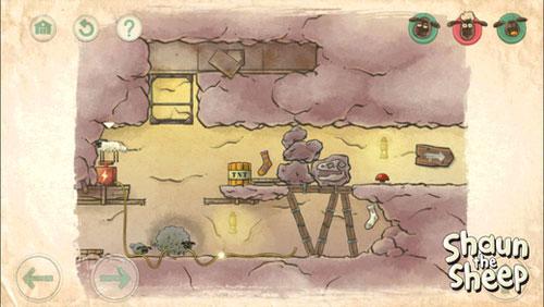 لعبة Shaun the Sheep المليئة بالألغاز والمتعة والتسلية