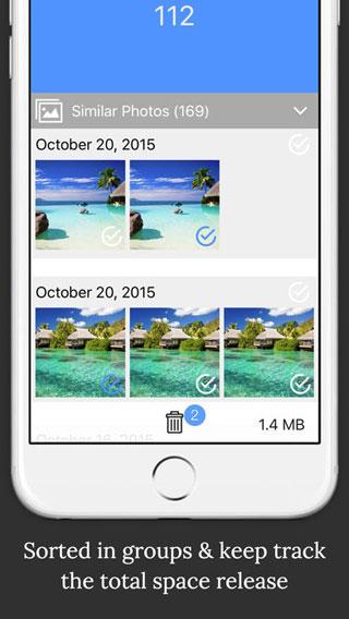 تطبيق BeetleCam Gallery Cleaner لحذف الصور المكررة