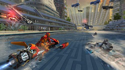 لعبة Riptide GP: Renegade لسباق المركبات المائية