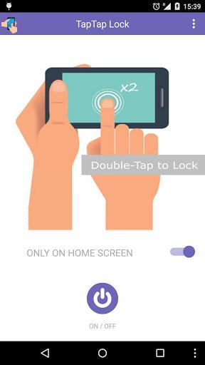 تطبيق Tap2Lock Screen Lock لفتح قفل الهاتف بمجرد النقر