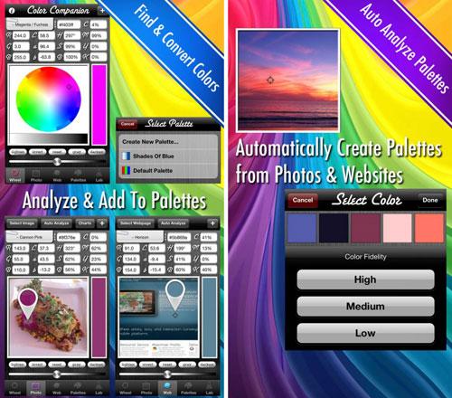 تطبيق Color Companion لتعديل ألوان الصور باحترافية