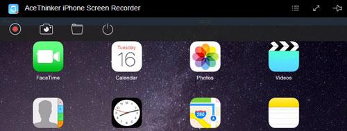 برنامج Acethinker iPhone Screen Recorder