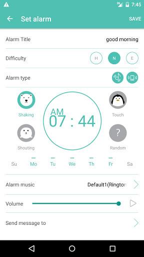 تطبيق Shake-it Alarm منبه بمزايا كثيرة مفيدة يوميا