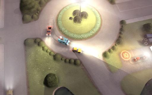 لعبة Does not Commute لسباق السيارات بتصميم مميز