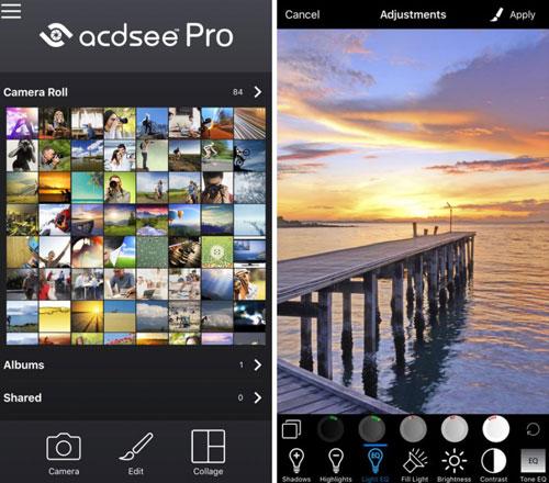 تطبيق ACDSee Pro لتصوير وتحرير وتعديل الصور