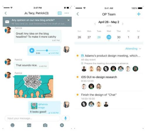 تطبيق Rush لإدارة البريد والتواصل مع الأشخاص مباشرة