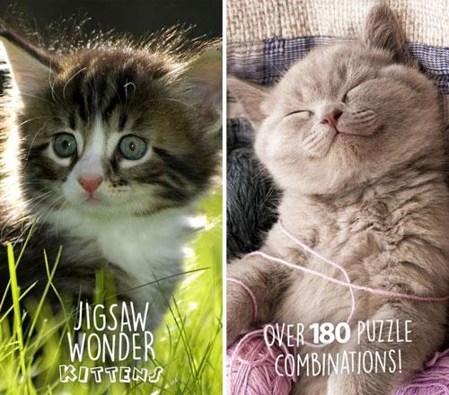 لعبة Kittens Jigsaw لتجميع قطع الصور - مجانا لوقت محدود لعبة Kittens Jigsaw لتجميع قطع الصور