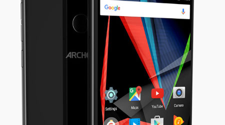 الإعلان عن هاتف Archos 55 Diamond Selfie لهواة التقاط السيلفي !