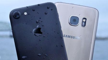 فيديو: أيفون 7 ضد جالاكسي S7 في مقاومة الماء - أيهما أقوى ؟