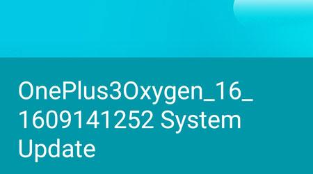 صورة جهاز OnePlus 3 يحصل على تحديث OxygenOS 3.2.6، هل وصلكم ؟