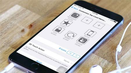 صورة شرح: تخصيص ميزة AssistiveTouch الرائعة للتعامل مع جهازك كمستخدم متقدم