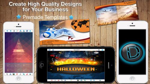 تطبيق Design & Flyer Creator