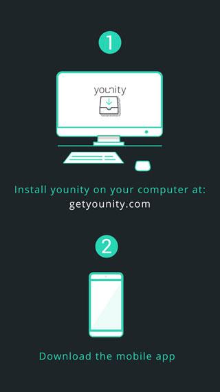 تطبيق younity للوصول إلى ملفات حاسوبك من خلال هاتفك أو جهازك اللوحي