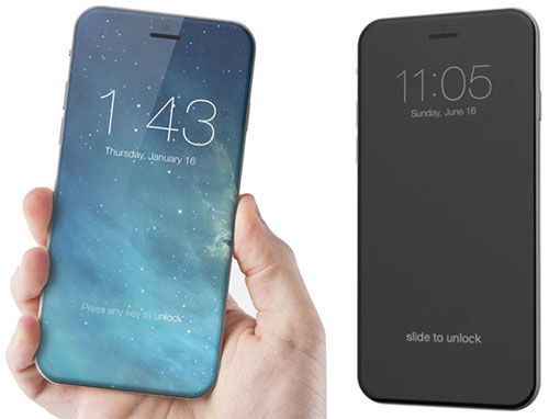 اخبار الايفون 7 iphone - الأيفون 8 – نسخة 5 إنش قادمة وتأكيد بعض المزايا التقنية
