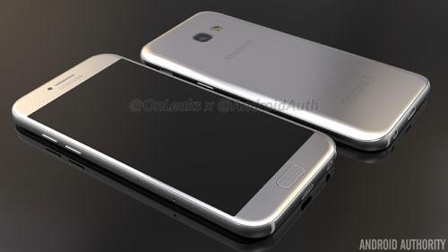 تسريب صورة هاتف Galaxy A5 نسخة 2017 الجديدة