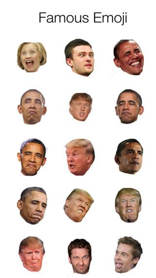 تطبيق Real Emoji للحصول على إيموجي شخصيات حقيقية عالمية