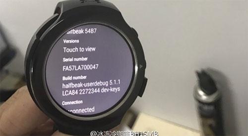 أخيرا تسريب صور ساعة HTC ذات التصميم الدائري