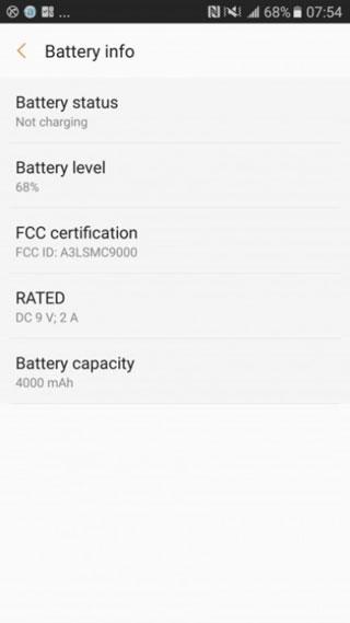 تسريب: هاتف Galaxy C9 سيحمل بطارية سعة 4000 ميلي أمبير