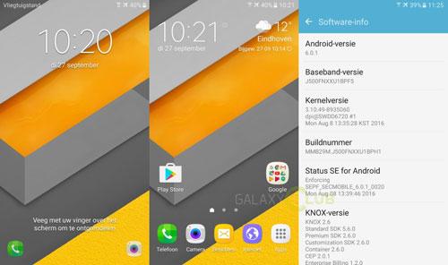 هاتف سامسونج Galaxy J5 يحصل على الأندرويد 6.0.1