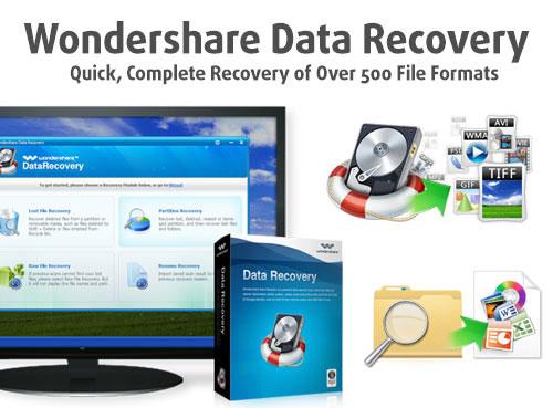 برنامج Wondershare Data Recovery لاستعادة الملفات المحذوفة