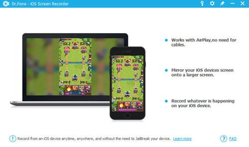 برنامج iOS Screen Recorder لتسجيل شاشة الأيفون والآيباد