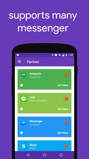 تطبيق Flychat للرد على رسائل أغلب التطبيقات من مكان واحد