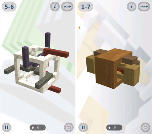 لعبة Interlocked لمحبي الألغاز والتحديات الهندسية