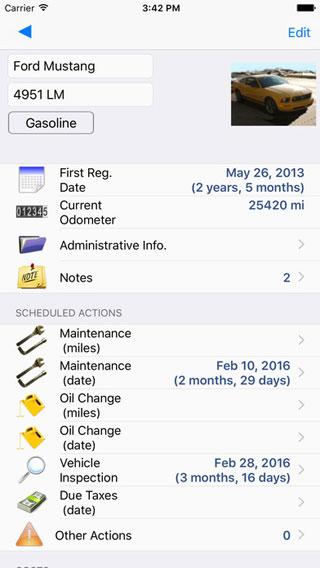 تطبيق Car Manager لإدارة ومعرفة تفاصيل سيارتك