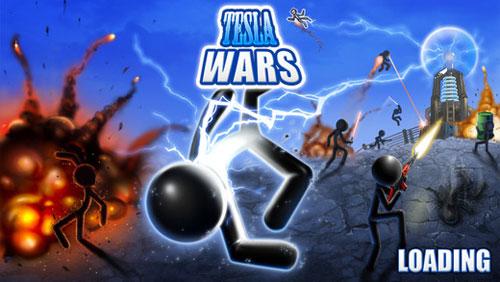 لعبة Tesla Wars الاستراتيجة