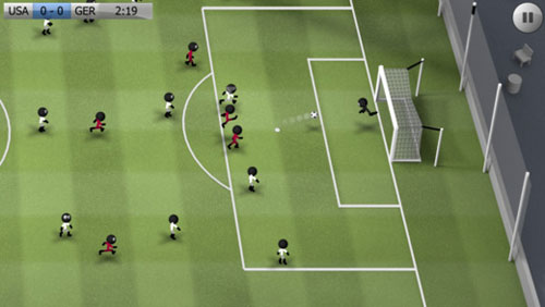 لعبة Stickman Soccer لتحدي كرة قديم رائع