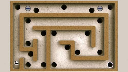 لعبة Modern Labyrinth الكلاسيكية في قالب جديد
