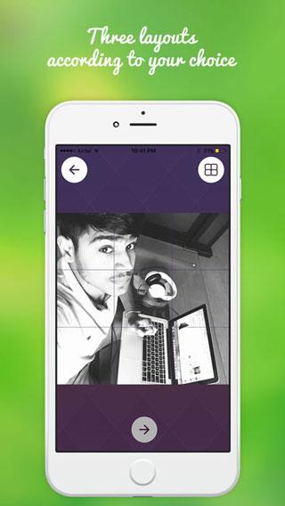 تطبيق Insta Grid Post لتقسيم الصور ورفعها بحجمها الكامل لانستغرام