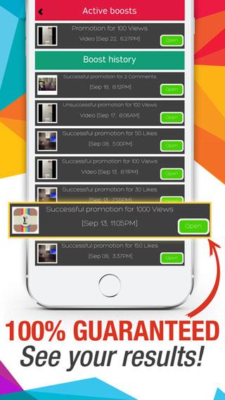 احصل على متابعين وإعجابات كثيرة مع تطبيق Instaboost