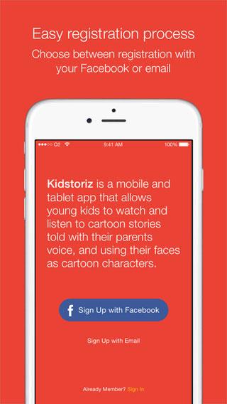 تطبيق KidStoriz التعليمي والتفاعلي المفيد للأطفال