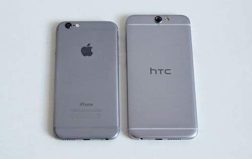 أيفون 6 ضد HTC One A9